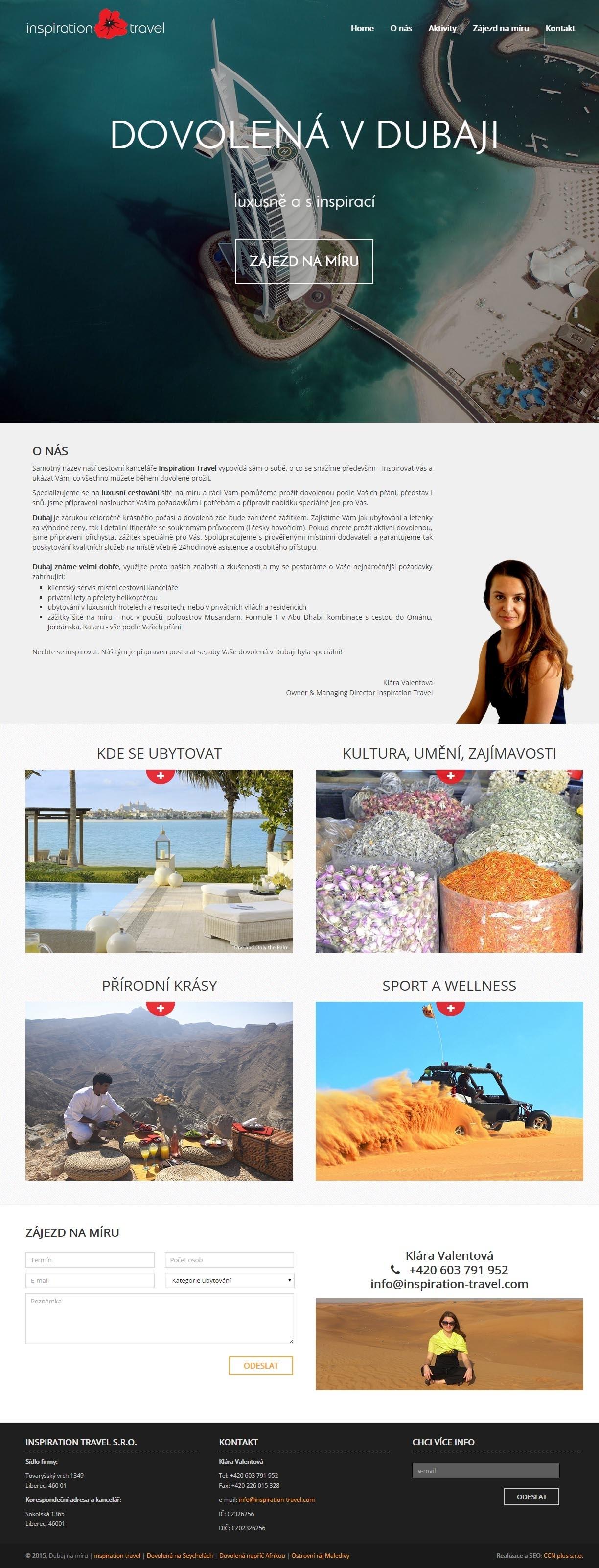Dubaj na míru - Inspiration Travel